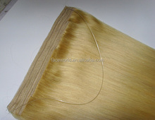 Factory wholesale 100 keratin tip human hair extension best selling flip in hair extension