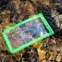 Best brand drawstring PVC new design mobile phone pouch,bulk waterproof phone cases