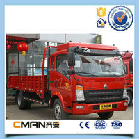 SinoTruk/good price 4x2 howo small cargo truck with Good Quality
