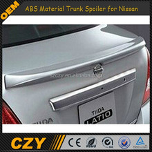 06-13 ABS trunk spoiler for Nissan Tiida Latio