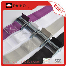 High tensile strength bus seat webbing belt for binding