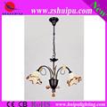 más populares de flores de cristal araña de cristal de la lámpara