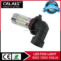 2015 Hot New Auto Fog Lamp High Power 100W for h7 h8 h11 9005 9006 CAR LED hyundai santa fe fog lamp