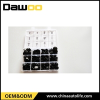 Universal auto clips and plastic fasteners