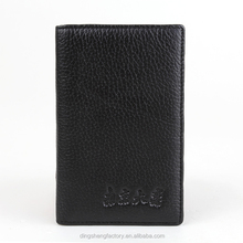 Business promotion leather travel organizer top grade handcraft