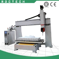 Good Design RCF 1325 5 Axis CNC Router Engraver Machine with High Quality