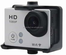 Hot! 2 inch 1080p full HD sj4000 Wifi gopros 4 black edition sport camera with silver color option