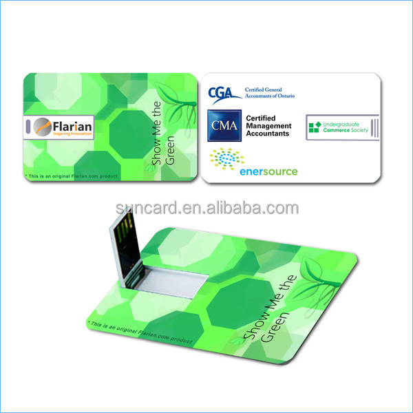 business cards usb flash drive