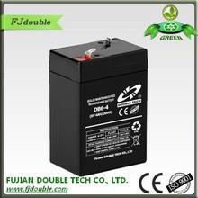 Sealed exide storage 6v 4ah rechargeable lead acid battery