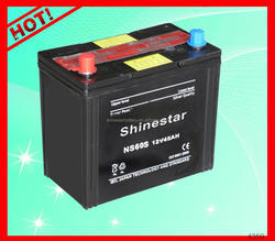 High performance 12Volt 45AH lead acid dry charged car battery With Best Factory price