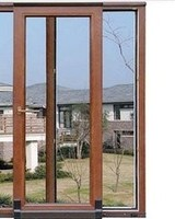 2015 wholesale and low cost glass sliding window materials from china manufacture