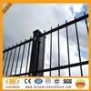 European markets hot sales welded double horizontal wire fence panel for garden