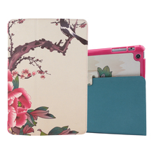 Hot sale customed back cover for ipad air 2 leather case wholesale