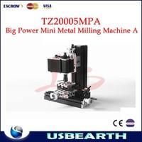 Top hot selling TZ20005MPA big power Mini metal milling machine 144w mini portable wood cutting machine