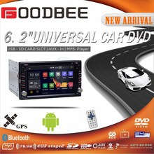 6.2 inch / 6.95 inch / 7 inch Double Din / 2 Din Car DVD Player