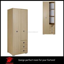 Hot Modern Design Bedroom Furniture Modular Wardrobe with Sliding Door