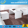 2015 New design modern CT005 Special design wood table top led coffee table