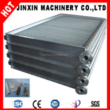 Plate-finned tube type air to water/air to air heat exchanger