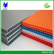 Best price for 4'x8' corflute sheet/corrugated plastic sheet/coroplast sheet