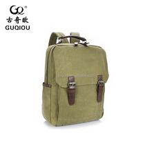 Summer Designer Vintage retro backpack Hiking Canvas backpack for man travel bag factory wholesale