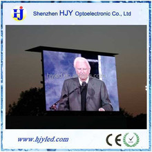 Easy operation P10 outdoor led display 16*16 dots