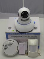 HD 720P Video 2CU Wireless Linkage Alarm IP Camera! wireless ip camera memory card