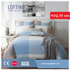 2015 Blue Notes cotton check yarn dyed bedding set /pillow cover /fitted sheet