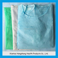 Surgical supplies sterile disposable surgical gown ,patient surgical gown