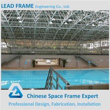 China LF Long Span Space Frame Steel Structure Swimming Pool