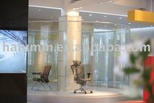 curve office partition