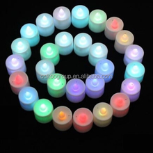 BRAND NEW REAL FLAME LED COLOUR CHANGING MAGIC WAX MOOD CANDLE FLAME ACTIVATED