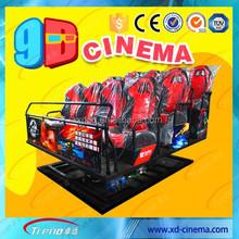 Best Virtual Reality 9D Movie Cinema Simulator For Sale