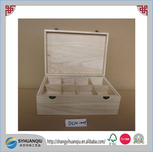 Gift & Craft Industrial Use and Accept Custom Order wooden jewelry box wooden tea box