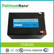 Light Weight 12V 15Ah Deep Cycle LiFePO4 Battery