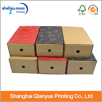Fashion paper mache nike shoe box