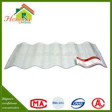 Miglior temperatura vendita di prodotti resistenti chiaro ondulato lastre di copertura in plastica