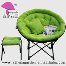 luxury moon chair with corduroy