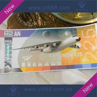 Anti- counterfeiting hot stamping hologram ticket