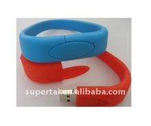 colorful belt pvc usb flash drive