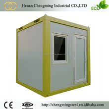 transportable small pre-made commercial movable 20ft steel container office & accommodation