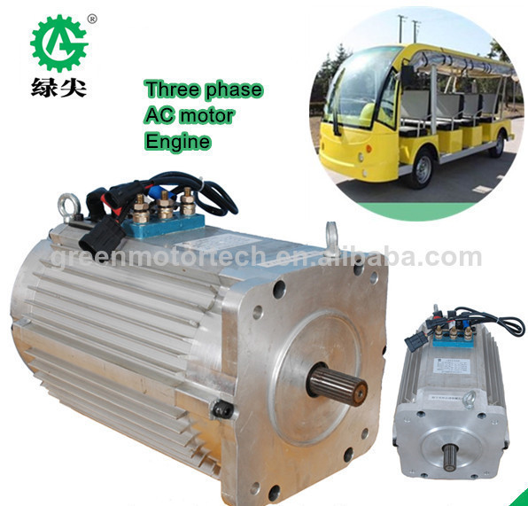 4 Seats Battery Powered Electric Golf Cart Motor 3kw 48v Ac Dc