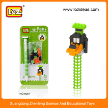 Cute animal design pen plastic ballpen