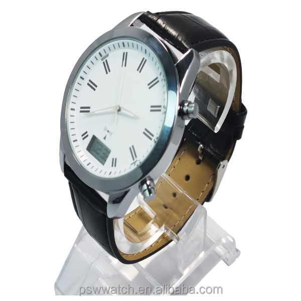 Hot sale! World cup Germany radio leather watch water resistant watches for men