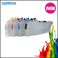 Long version refillable ink cartridge for Brother LC 115 LC 117 with ARC chip without ink for Brother J4610DW/ J4710DW