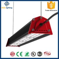 High lumen 120lm/w LED Linear Asymmetric led warehouse lighting circular high bays