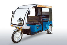 1000W electric tricycle rickshaw with passenger seat for 5-6 people