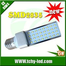 G24 3014SMD 6W LED PL lamp 254nm uv leds