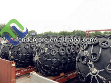 SGS / BV / CCS Pneumatic Rubber Fender For Tankers, Gas Carriers, Bulk Cargo Ships