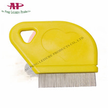 China Wholesale Pet Products Plastic Dog Lice Comb Hiar Cleaning Tool