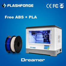 FLASHFORGE dual extruder 3d nail printer in china ABS PLA PVA HIPS appliable